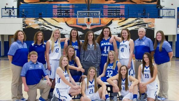 2016-17 Macon County High Girl's Basketball Team
