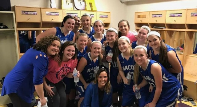 Macon County High School Girls Varsity Basketball beat Smith County High School 50-45