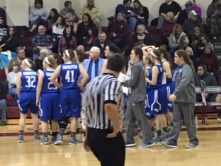 Macon County High School Girls Varsity Basketball beat Cannon County High School 52-36