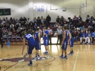 Macon County High School Boys Varsity Basketball beat Cannon County High School 77-52