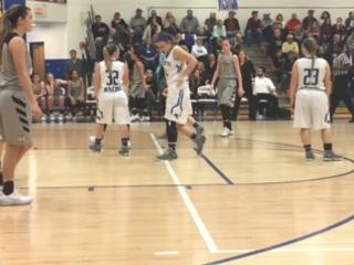 Macon County High School Girls Varsity Basketball falls to Upperman High School 69-55