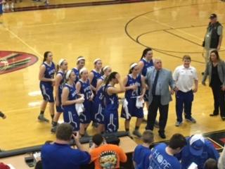 Macon County High School Girls Varsity Basketball beat Signal Mountain High School 60-38