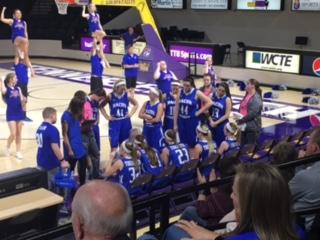 Macon County High School Girls Varsity Basketball falls to Upperman High School 52-39