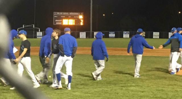 Macon County High School Varsity Baseball beat Jackson County High School 7-5