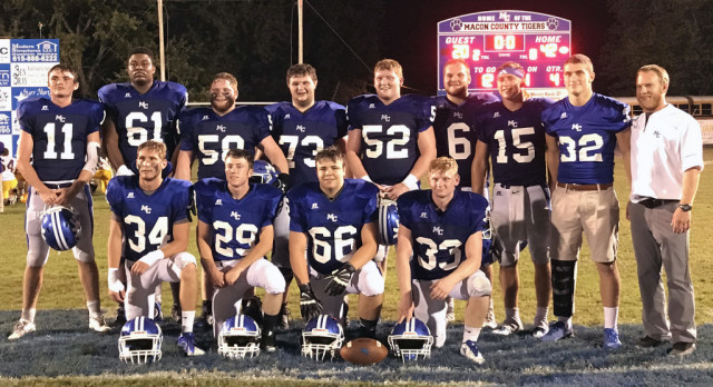 Tigers roll past Trousdale County