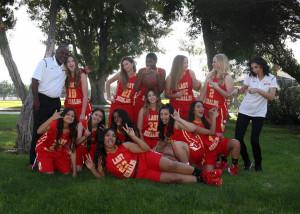 Varsity girls team casual funny