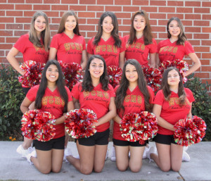 Varsity song Team Picture