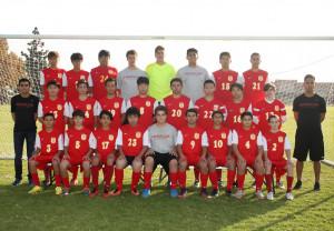 Boys JV Soccer Team Pic 2016