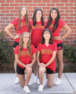Vasity cheer Team Picture
