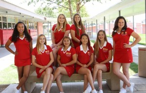 Varsity Cheer Team Picture