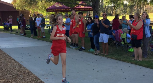 Cross Country battles at Clark Park!