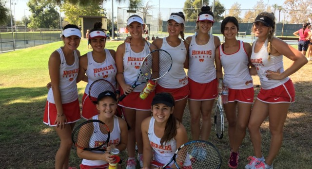 Herald Tennis in Olympic League Final Tournament
