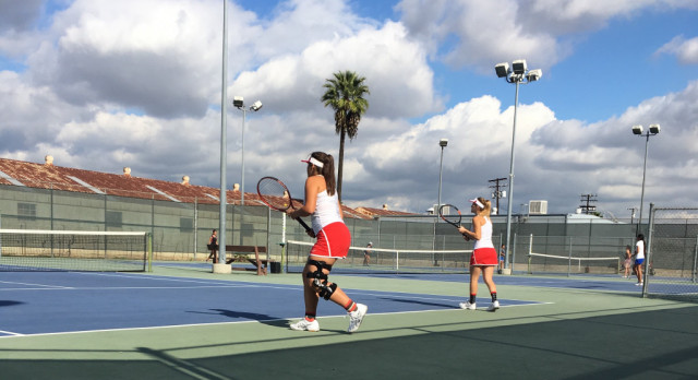 Herald Doubles Team finishes in CIF.