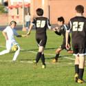 Boys JV Soccer win over Heritage Christian