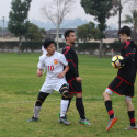 Boys Varsity Soccer win over Village Christian