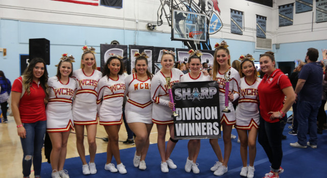 Cheer Team Division Champs at Sharp Competition!