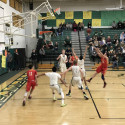 Boys Varsity Basketball CIF game vs. Royal