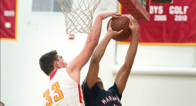 Great Photos in the Daily News of Herald Basketball Victory over Maranatha