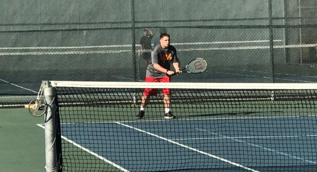 Boys Tennis leads off the Spring Season