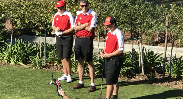 Herald Boys Golf Team battles Gahr High at Candlewood