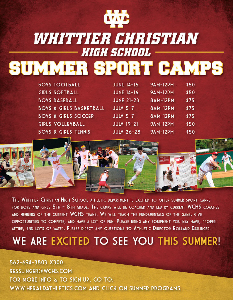 Herald Summer Youth Camps 2017