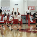Varsity Boys Volleyball 3-0 win over Village Christian