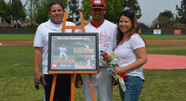 Josh Hernandez selected to All Area Baseball Team!
