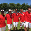 Boys Tennis In Olympic League Prelims