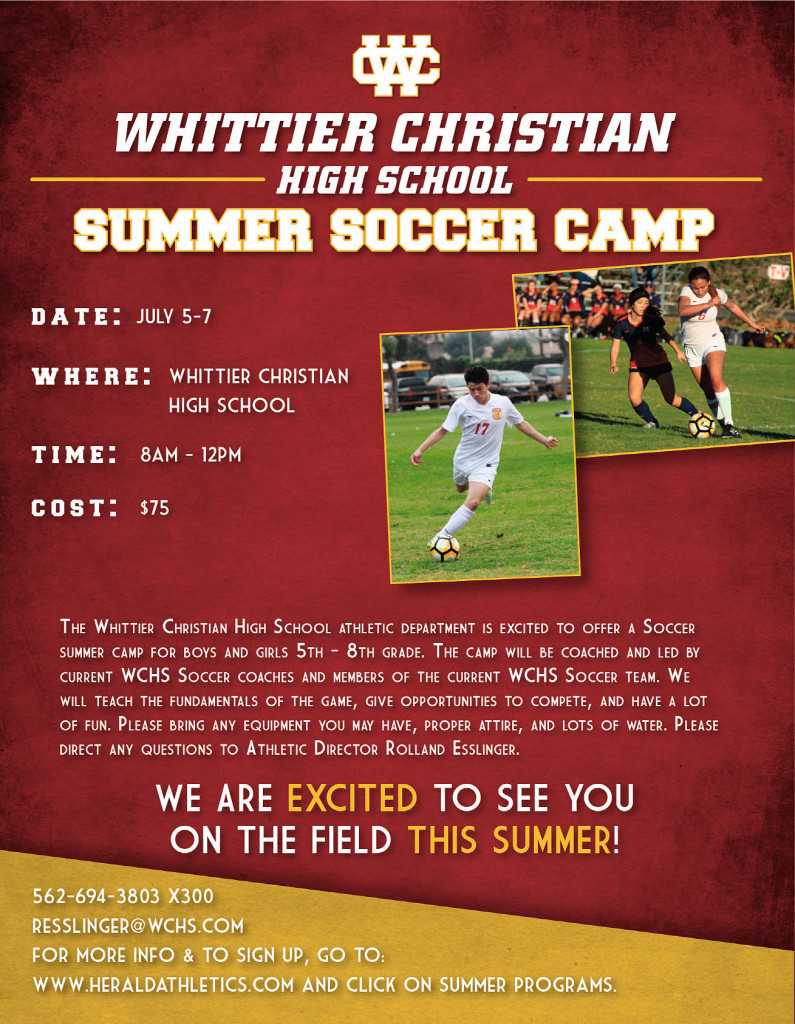 Herald Summer Soccer Youth Camp 2017