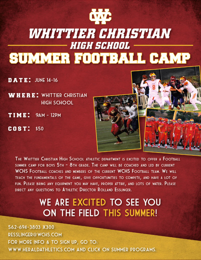 Herald Summer Football Youth Camp 2017