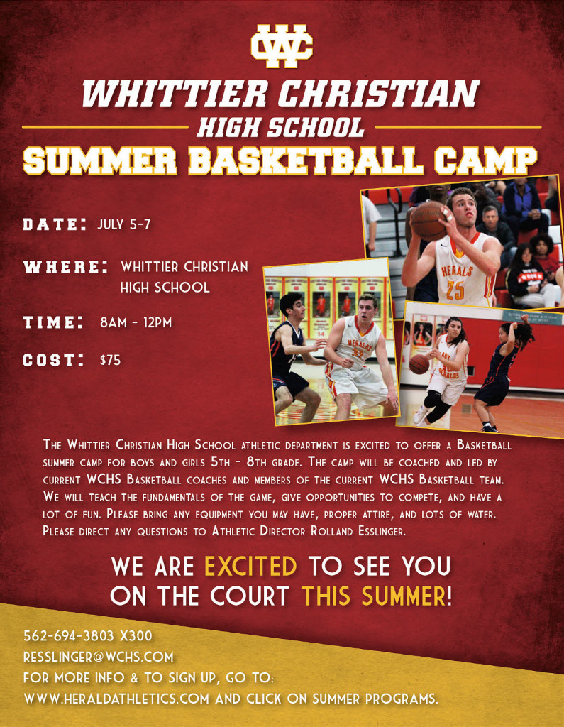 Herald Summer Basketball Youth Camp 2017