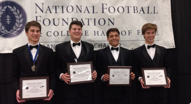 Hawks honored at NFF Academic and Athletic Achievement Awards