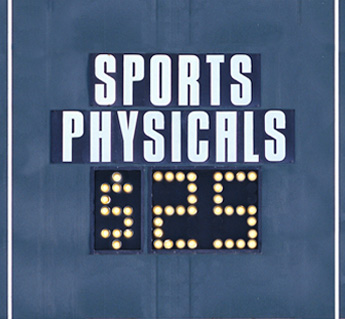 ALL SPORTS PHYSICALS – APRIL 18TH