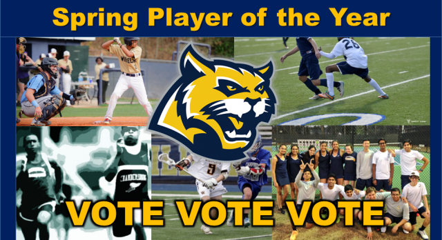 Vote for Spring Athlete of the Year