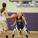 JV Girls' Basketball on Dec. 7th at James River