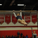 Varsity Gymnastics on Dec. 8th at Mills Godwin