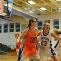 Varsity Girls' Basketball on Dec. 7th at James River