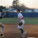 Varsity Baseball on Mar. 23rd vs. Glen Allen