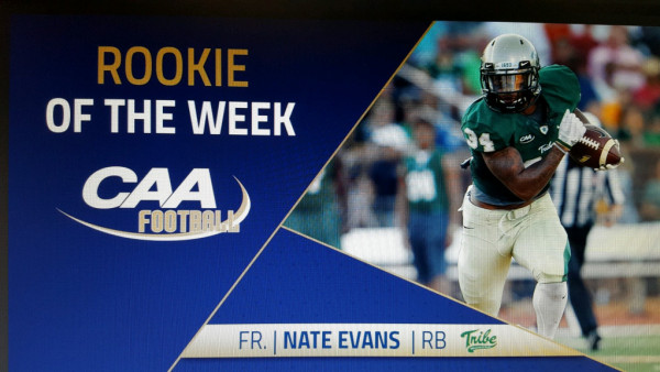 CAA Rookie of the Week Pic