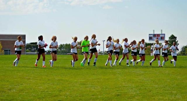 Girls' Varsity Soccer Stays Unbeaten