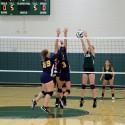 8th grade volleyball vs Hillsdale