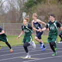 Middle school track vs Hillsdale/Norwayne