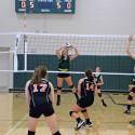 8th grade volleyball vs Dalton 8/24/17