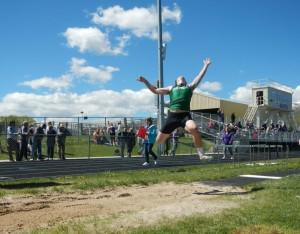 Parker jumps long at Regions