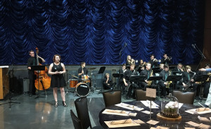 Jazz Band entertains the SSEF Gala at DeJoria