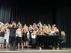 Middle School Choir Rocks