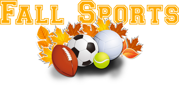Fall Sports Schedules are Online