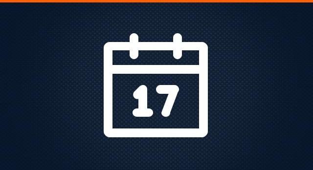 All Teams Schedule: Week of Sept. 25-Oct. 1