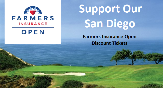 Golf Selling Discount Tickets – Farmers Open