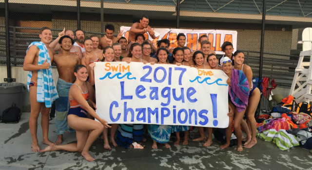 Boys and Girls Swim/Dive – League Champs